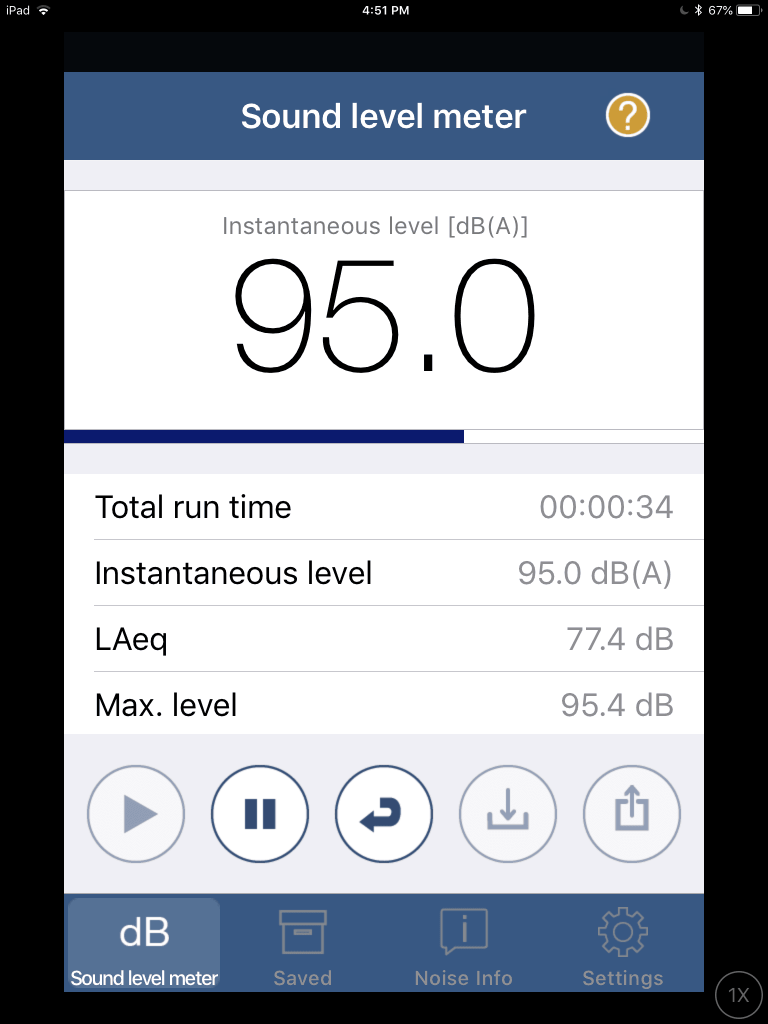 NIOSH Sound Level Meter App
