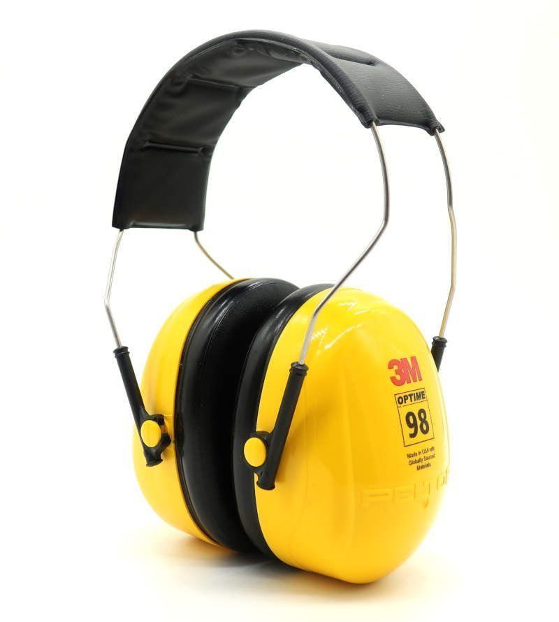 3M Peltor Optime-98 earmuffs