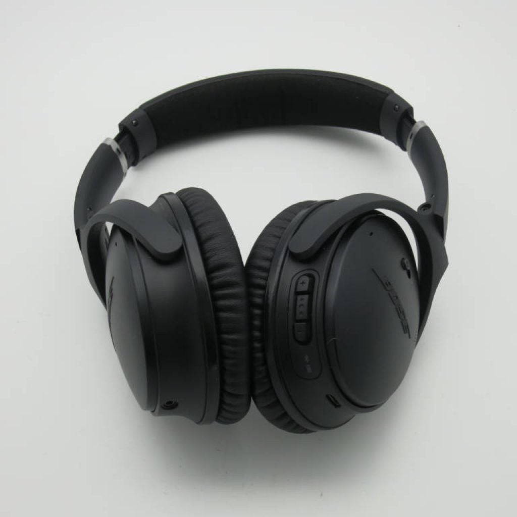 over-the-ear active noise cancelling headphones