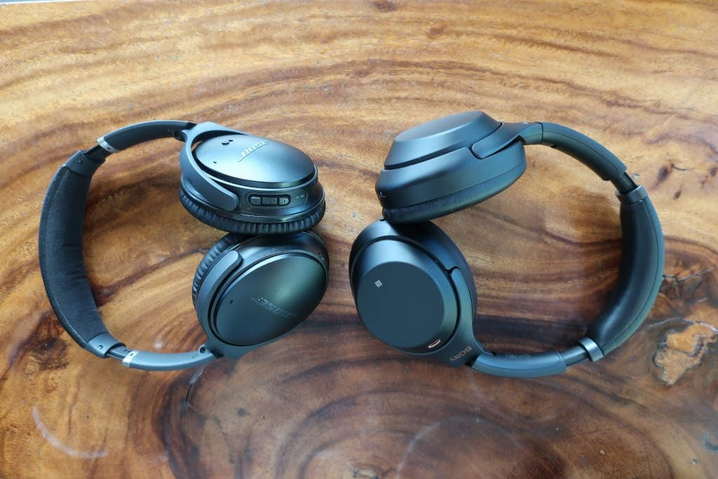 Noise cancelling headphones to block bass noise