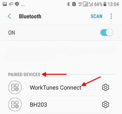 Android-Bluetooth Paired Devices