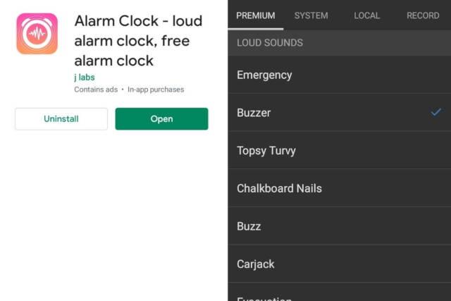 Loud Alarm Clock jlabs Android