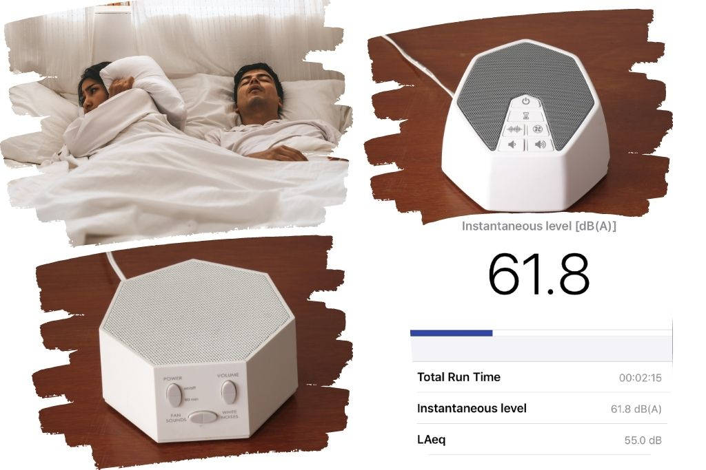 Does a white noise machine drown out snoring noise